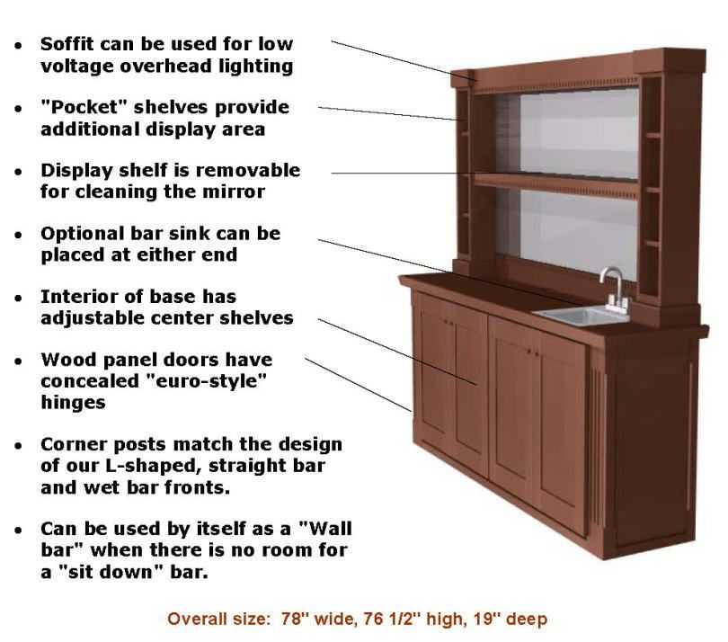 Home Bar Plans Easy Designs To Build Your Own Clic Back