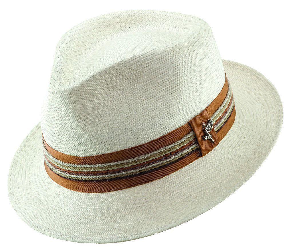 Pinch Front Shantung Hat