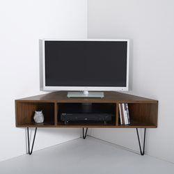 en bois clair meuble tv dangle vintage watford - Meuble Tv Living