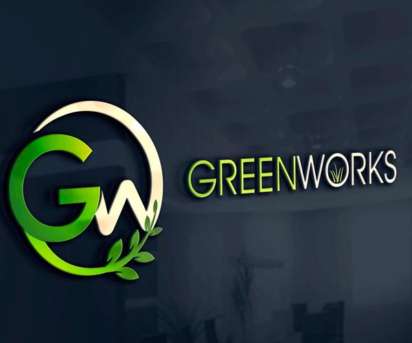 Green Works 31 Unique Landscape Logo Design Ideas 2016
