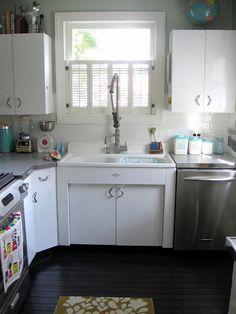 sink home metal kitchen cabinets kitchen cabinets kitchen rh pinterest com