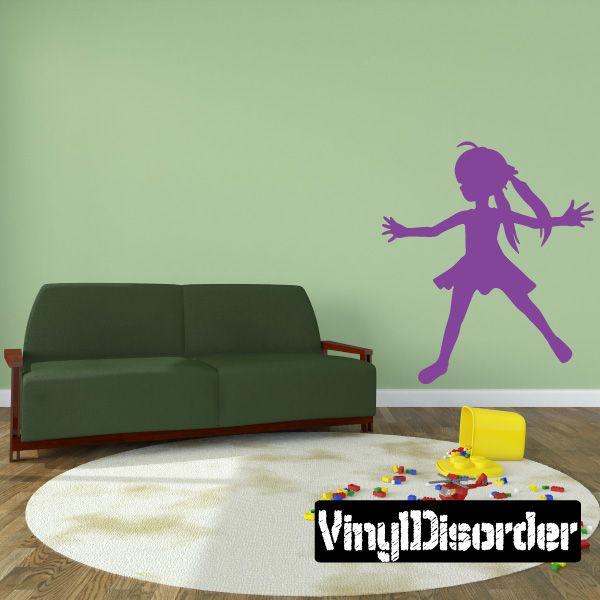 Girl Wall Decal - Vinyl Decal - Car Decal - 064