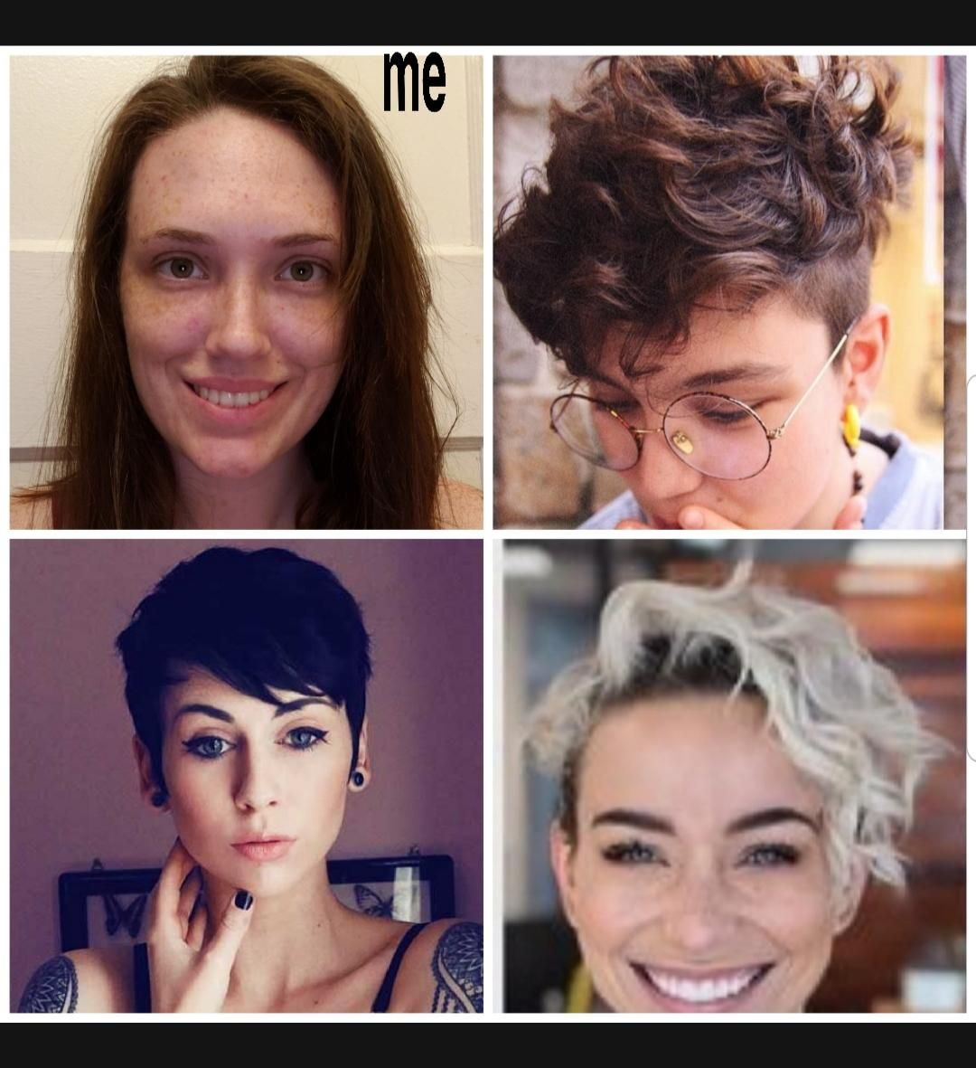 Which One Of These Short Hair Looks Would Look Good On Me Hair Beauty Skin Deals Me Fashion Love Cu Short Hair Styles Hair Looks Celebrity Hair Colors
