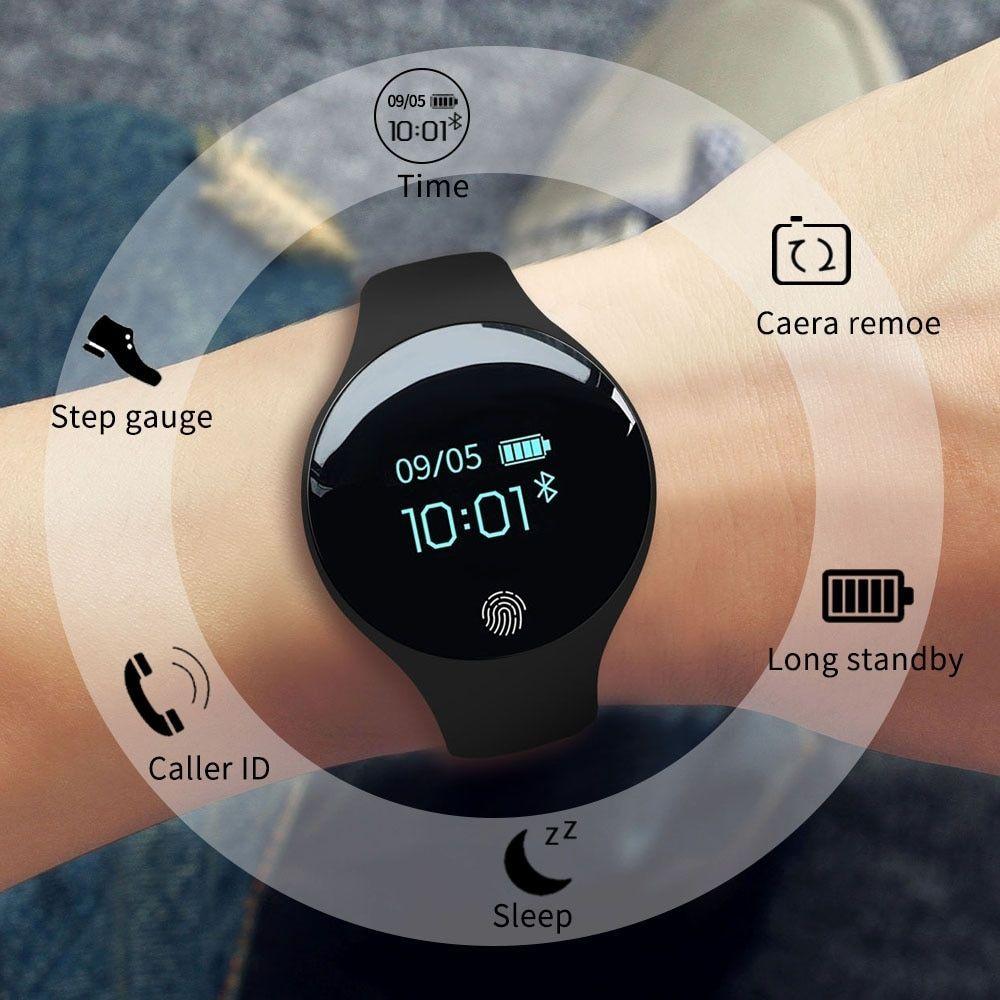 New Bluetooth Smart Watch for IOS Android Men Women Sport Intelligent Pedometer Fitness Bracelet Wat...