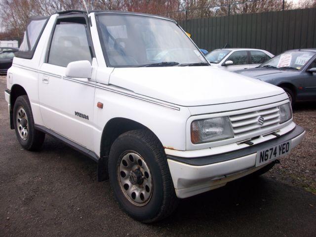 Suzuki Vitara JLX Convertible