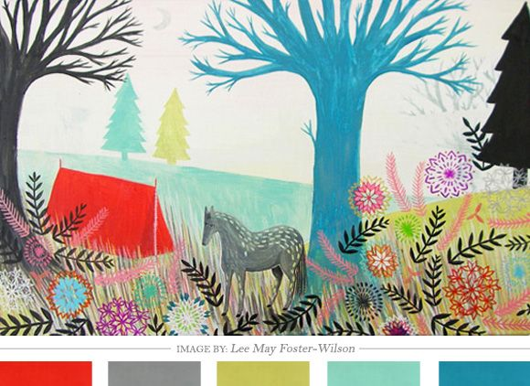Color Inspiration Daily: 04. 12.12 - Home - Creature Comforts - daily inspiration, style, diy projects + freebies