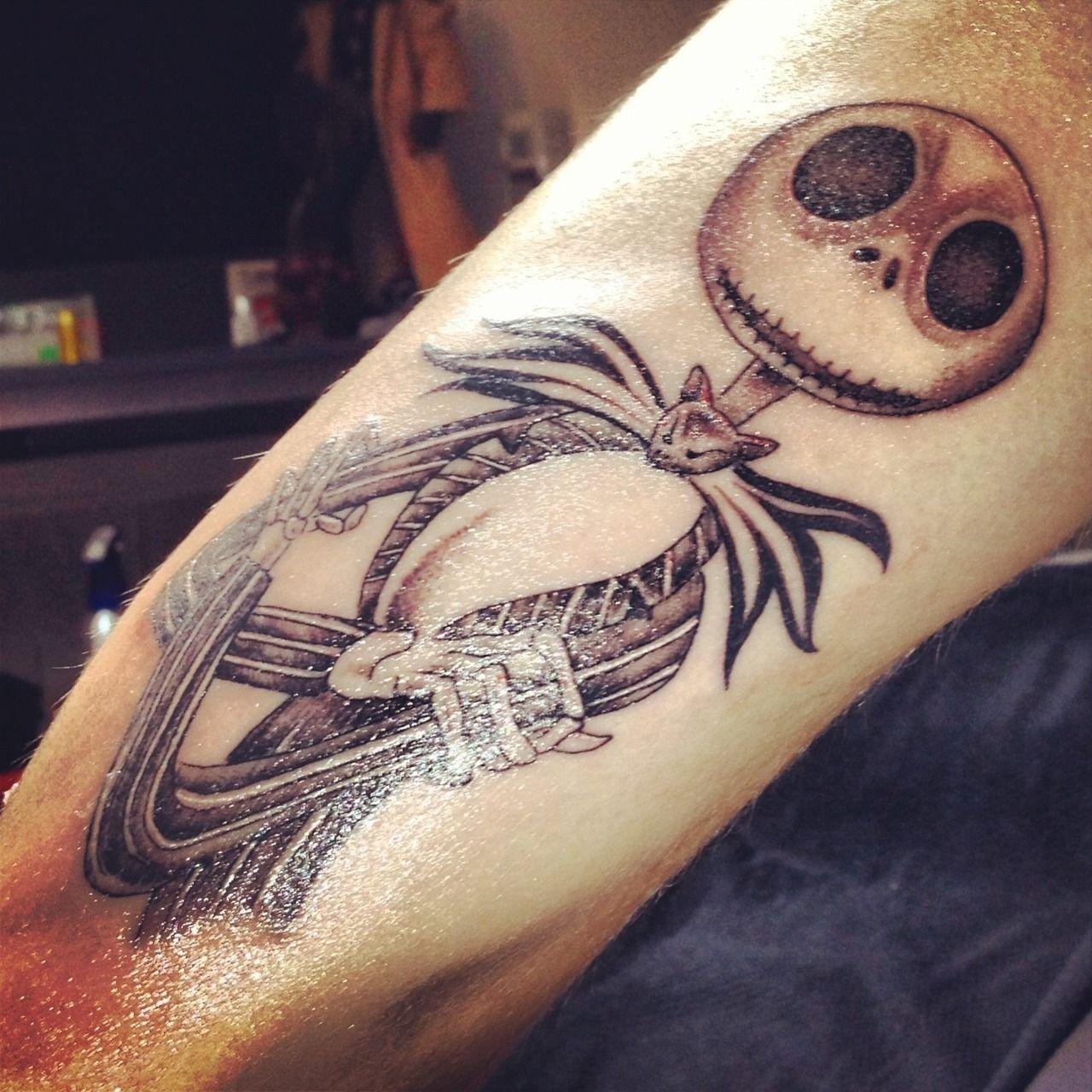 Jack Skellington tattoos Tattoos, Disney tattoos