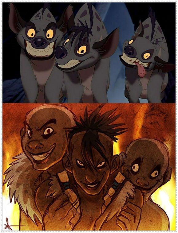 Lion King | Disney | Humanized Characters | Shenzi, Banzai ...