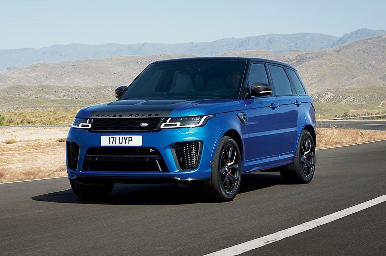 2018 Range Rover Sport Svr First Drive Range Rover Sport Range Rover Supercharged Range Rover Sport Review