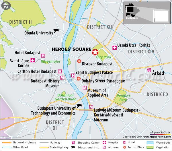 Heroes Square Budapest Hungary Map Facts Location Where is