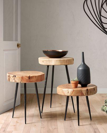 Eider side table Ø 34 cm   Kave Home®