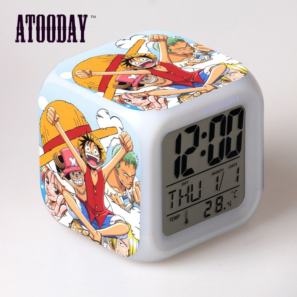 One Piece Color Changing Alarm Clock Free Shipping ...