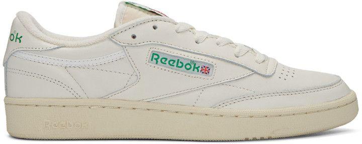 e2675932da8 Reebok Classics Ivory Club C 85 Vintage Sneakers