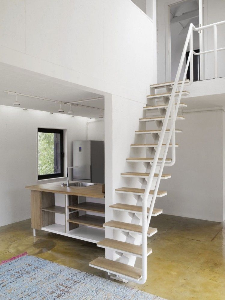 tipos de escaleras para casas peque as buscar con google escaleras metalicas pinte. Black Bedroom Furniture Sets. Home Design Ideas