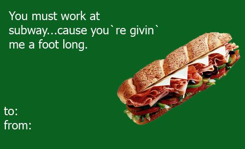 36 Inappropriately Awesome Valentines Day Cards From Tumblr – Food Valentines Day Cards