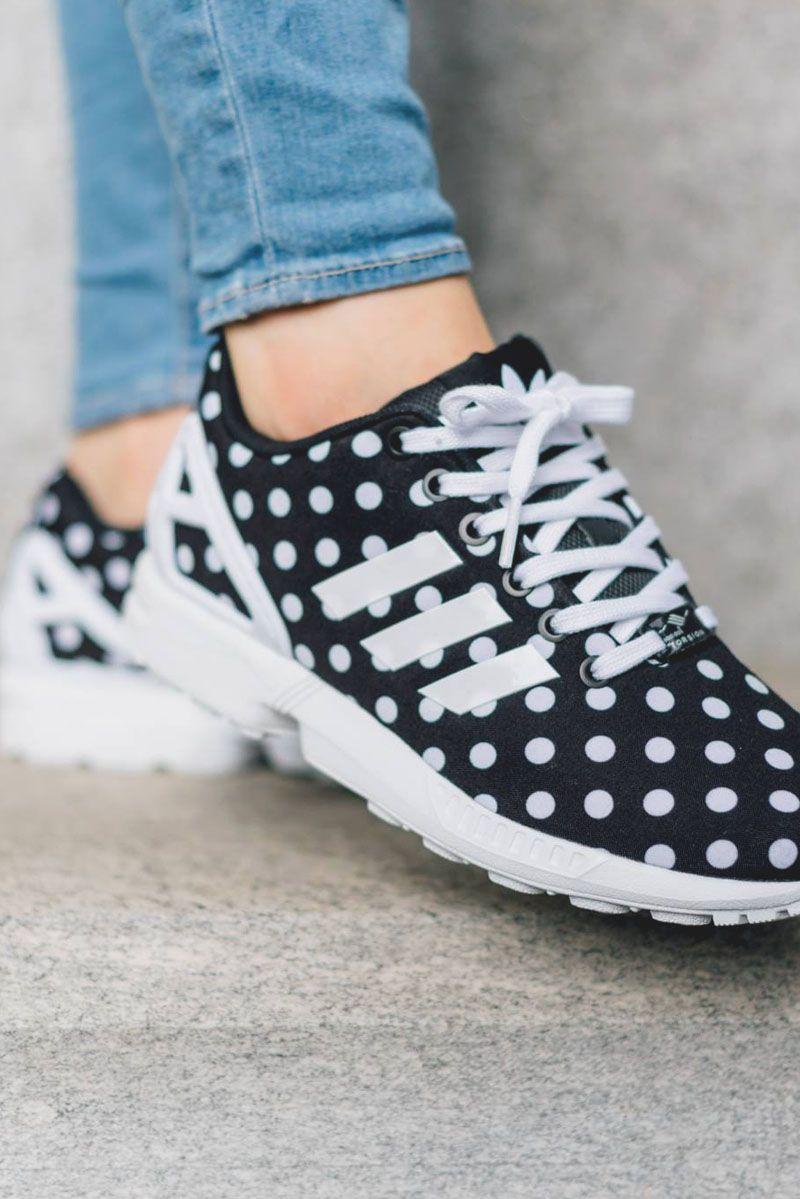 women's polka dot adidas shoes