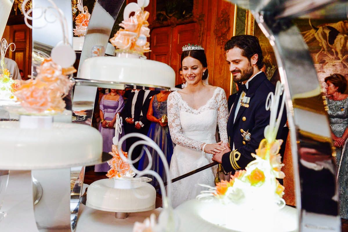 Danish Royal Family 13 June 2015 Prince Carl Philip And Princess Prince Carl Philip Royal Wedding Cake Royal Cakes
