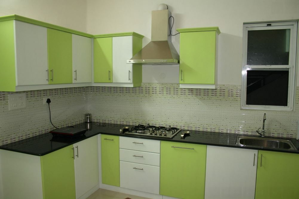Superbe Kitchen Design, Charming Green And White Remodel In India After Kitchen  Remodels: Checking Some Before And After Kitchen Remodels Examples To Give  You The ...