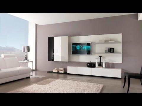 YouTube | Woonideeën | Pinterest | Modern tv cabinet, Tv cabinets ...