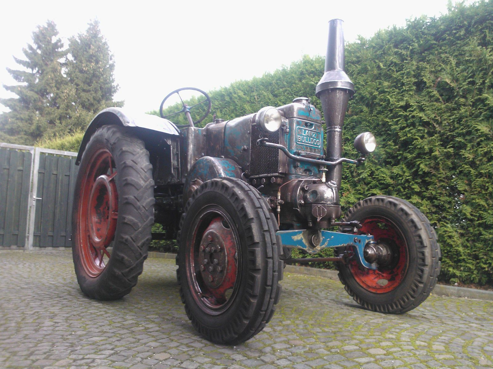 lanz bulldog gl hkopf traktor schlepper allzweck wie ursus. Black Bedroom Furniture Sets. Home Design Ideas
