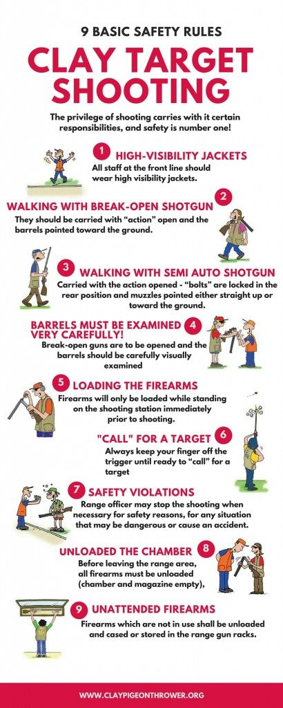 9 Basic Safety Rules For Clay Target Shooting Clay Shooting