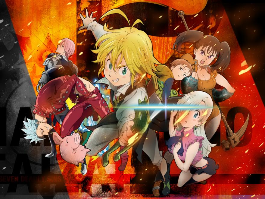 nanatsunotaizai 『 • The Seven Deadly Sins / Nanatsu no