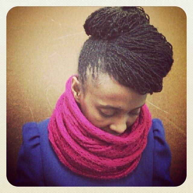 Sisterlock Updo Hair Styles Hair Inspiration Natural