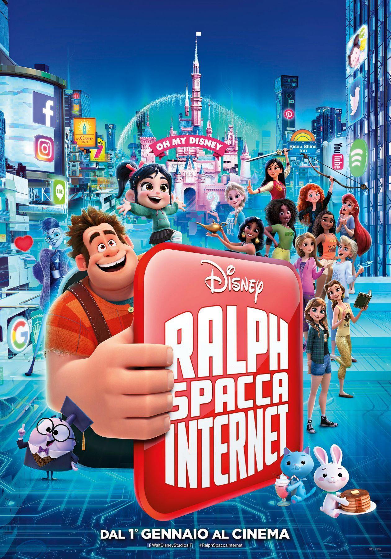 ralph spacca internet  Ralph Spacca Internet Ralph Spaccatutto 2, scheda del film di Phil ...