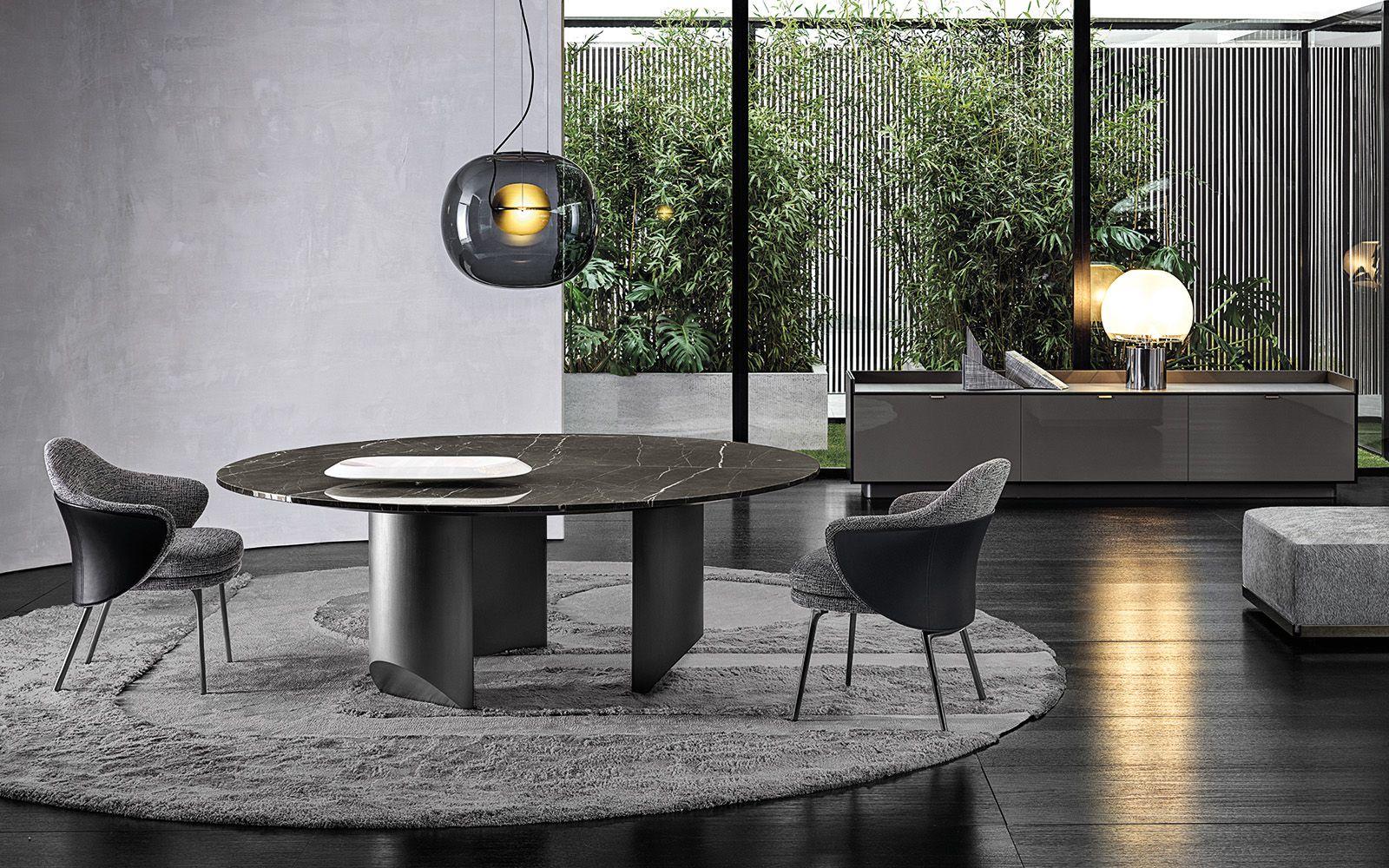 Wedge Dining Table Nendo Design Angie Dining Chair Gamfratesi Design Darren Sideboard Rodolfo Dordoni Design Minotti Dining Table Coffee Table Minotti