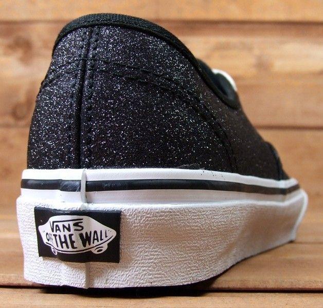 zapatillas vans con brillo