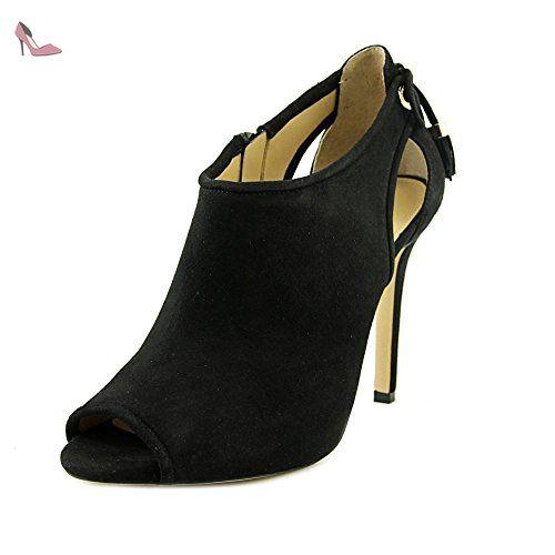 Easy Spirit e360 Gessica Femmes US 6 Noir Large Chaussure Plate - Chaussures michael kors (*Partner-Link)