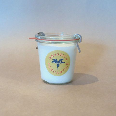 Weck Jar Scented Candle
