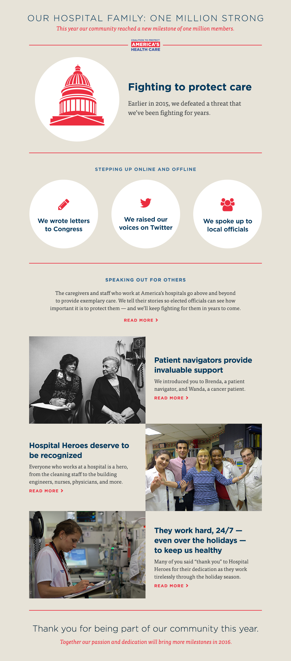 2015 Year in Review | Coalition to Protect America's Health Care