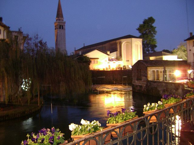 Sacile, Italy - This is one of my favorite places in all of Italy!