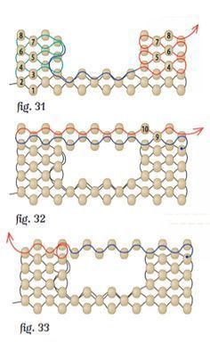 Photo of How to Weave an Open Space into a Peyote Stitch Design | Interweave