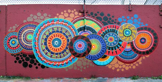 Mandala Outdoor Wall Art