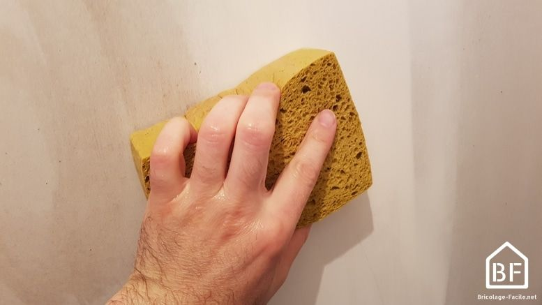 Avant lu0027application de peinture ou pour donner un coup de propre, le - Lessiver Un Mur Avant De Peindre