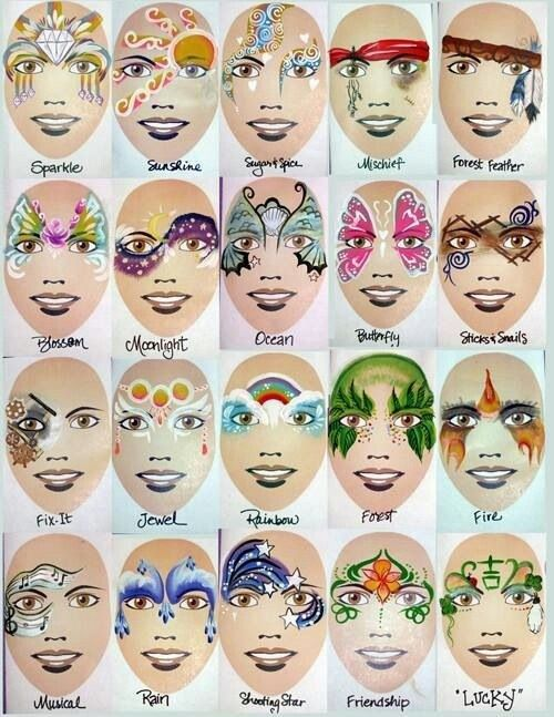 Masks Girls Face Painting Designs Girl Face Painting Face