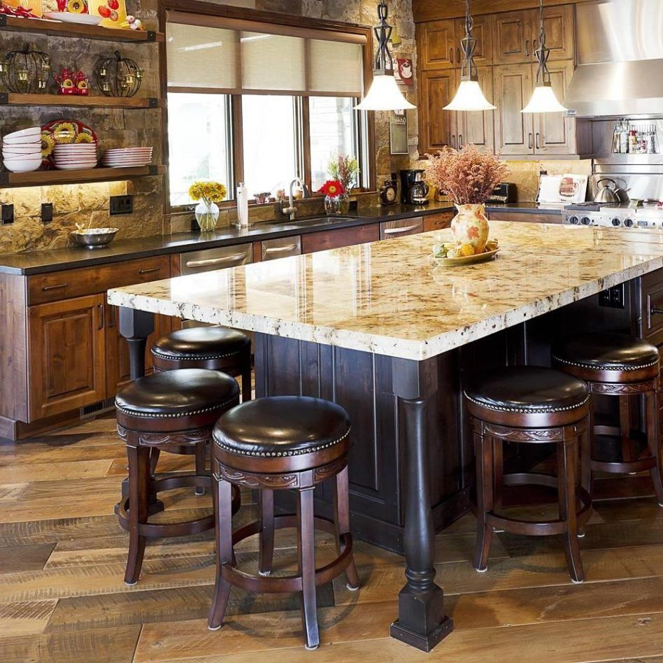 Table combo enchanting island dining loving this kitchen ideas