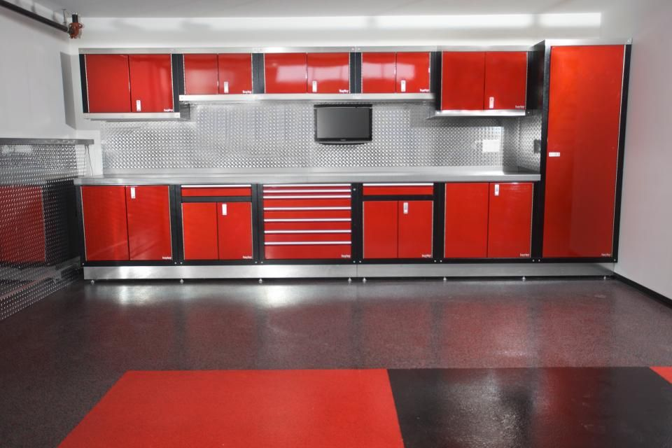 Photo of Cabinets by Hayley – Custom Garage Interiors | Metal Cabinets