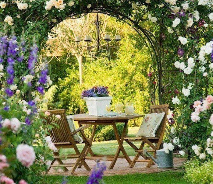 Jardin méditerranéen : 90 idées pleines de soleil | Garden | Jardins ...