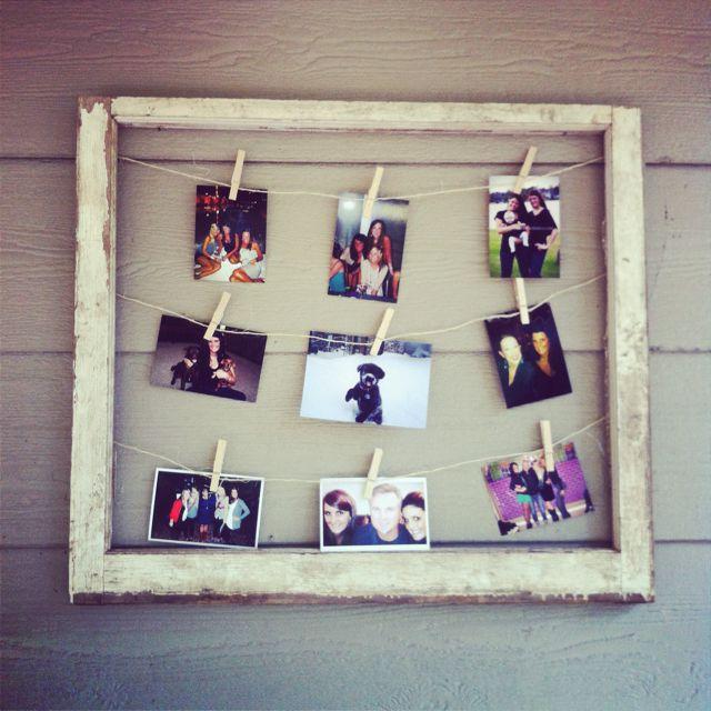 Pallet Picture Frames Diy Display