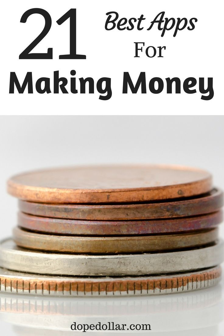 Looking for good apps to make money with? Check out these 21 money making apps and make side income with them!
