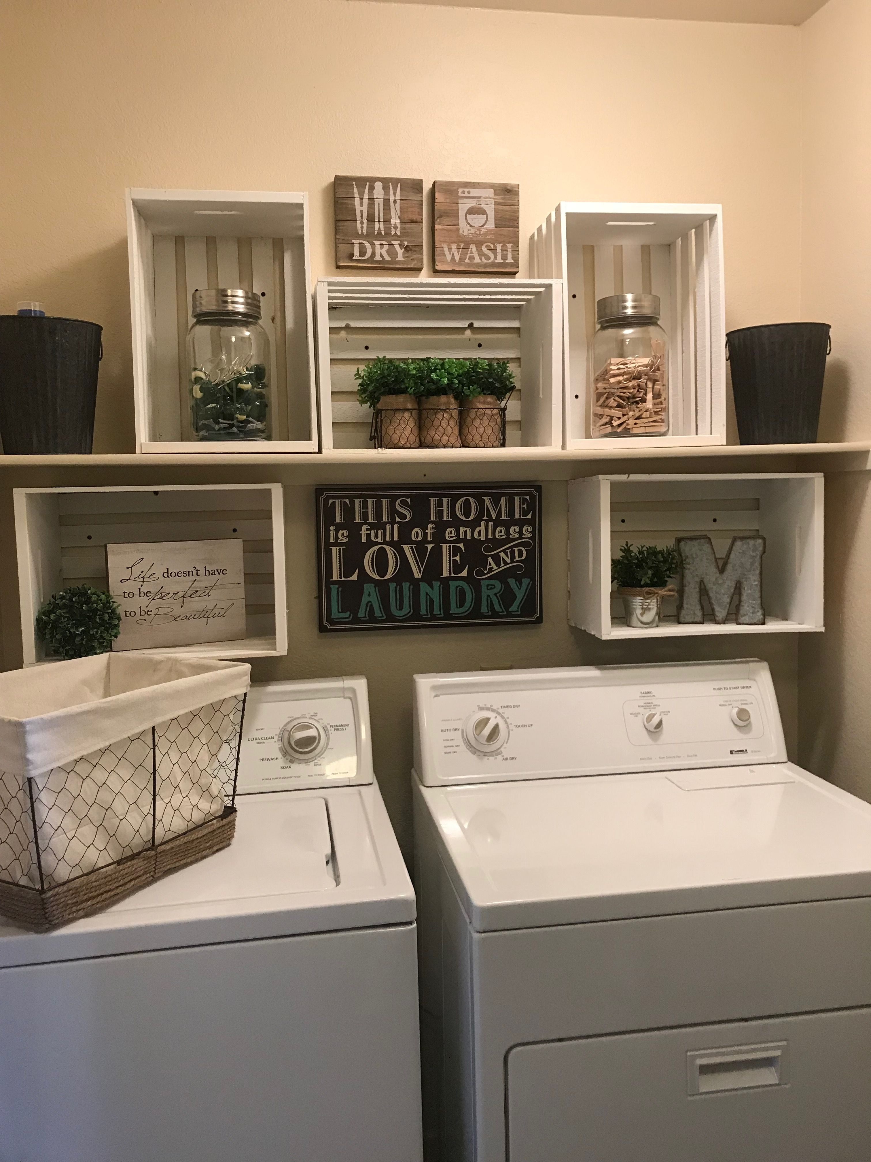 Laundry Room Closet Make Over Even The Tiniest Spaces Can Be