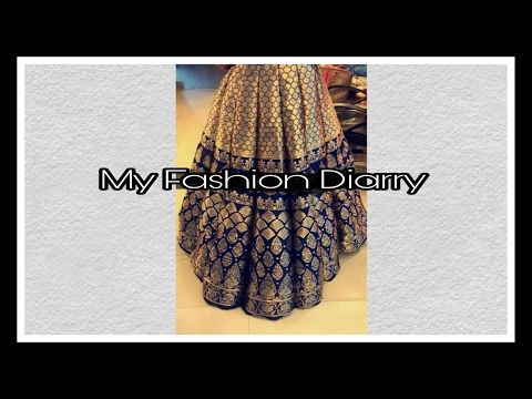 BOX PLEATED LONG SKIRT WITH UMBRELLA PATTERN - YouTube | Sew ...