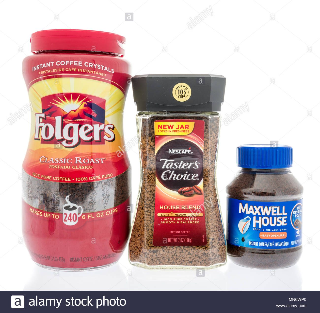 Winneconne Wi 11 May 2018 Three Of The Best Selling Instant Coffee Brands In America Is Maxwell House Coffee Branding Best Instant Coffee Instant Coffee