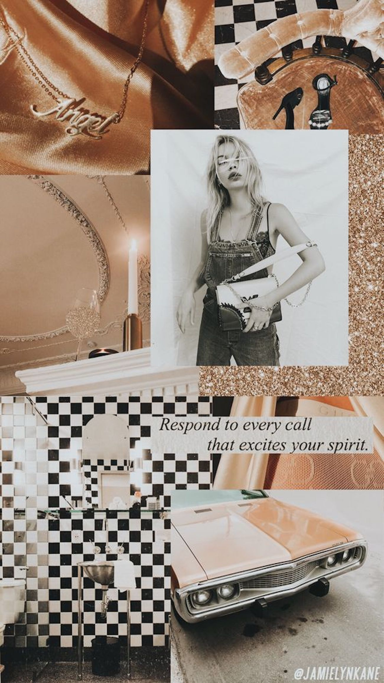 26 Fashion Collage Backgrounds For Your Phone BLONDIE IN