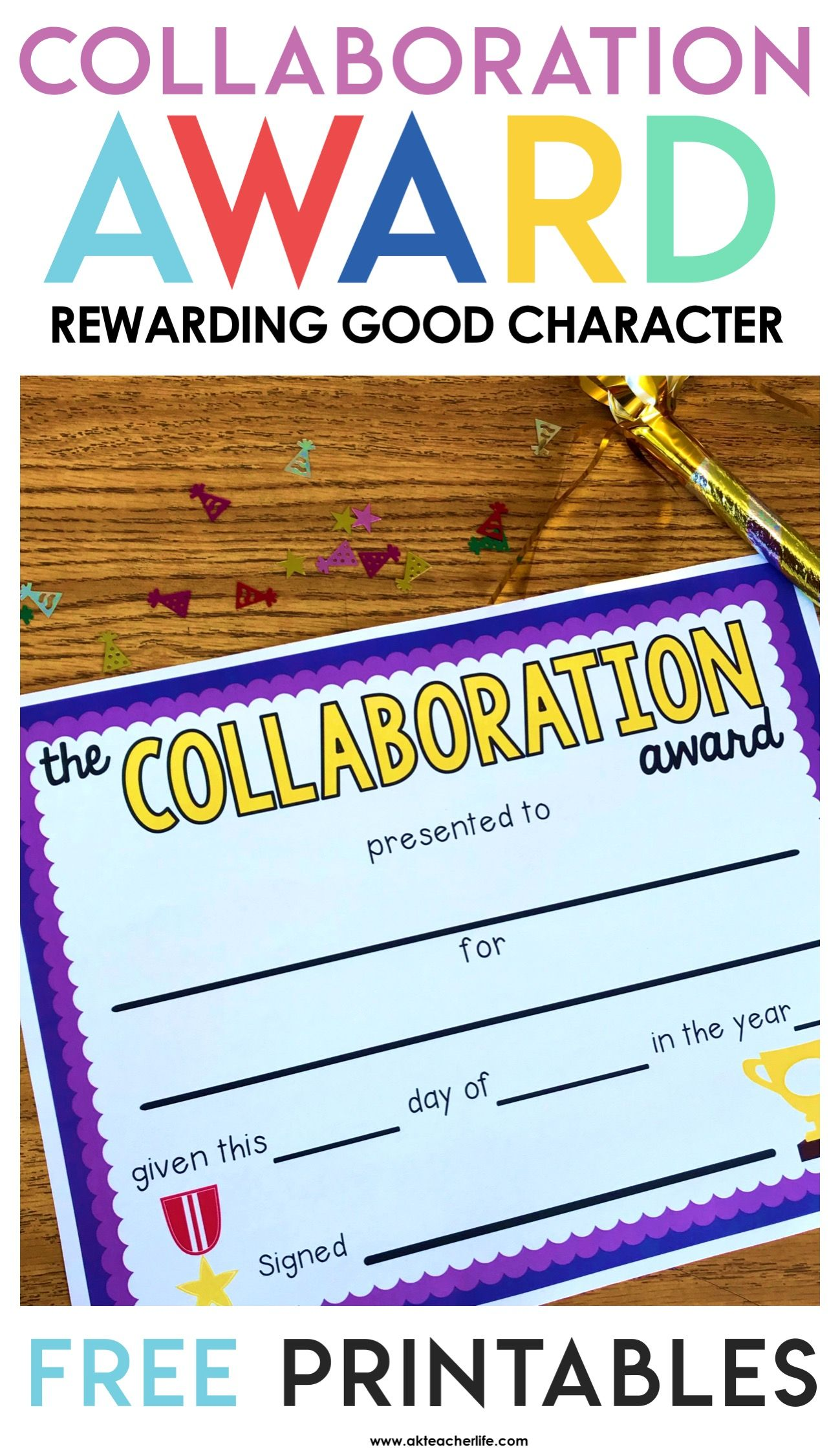 End Of The Year Character Awards In