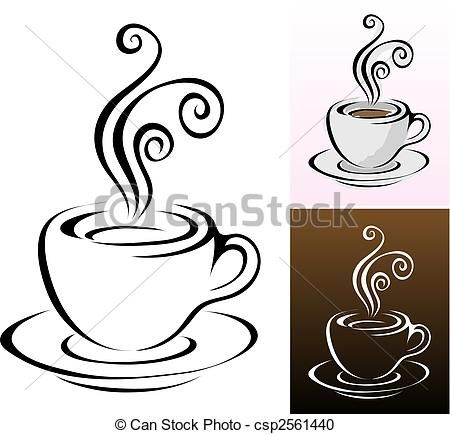Vector Coffee Cups Stock Illustration Royalty Free