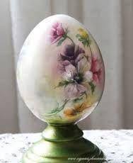 Znalezione obrazy dla zapytania jajka decoupage